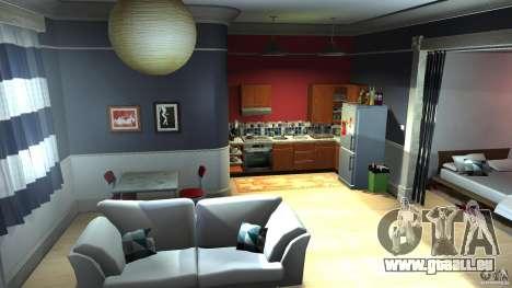 Retextured Lopez Apartment für GTA 4 Sekunden Bildschirm