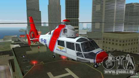 Eurocopter As-365N Dauphin II für GTA Vice City