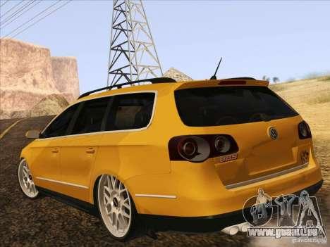 Volkswagen Passat B6 Variant pour GTA San Andreas vue de côté