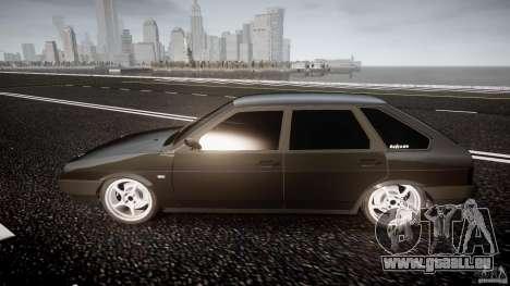 Lada VAZ 2109 pour GTA 4 est une vue de l'intérieur