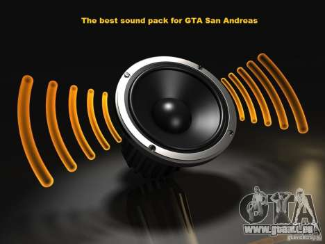 The Best Sound Pack für GTA San Andreas