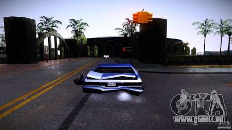 Piétons s'accrochent pour auto pour GTA San Andreas quatrième écran
