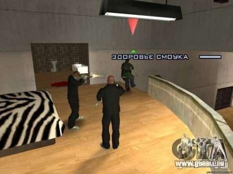 Double V 4.0 pour GTA San Andreas quatrième écran