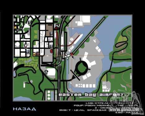 Pilote de l'emploi pour GTA San Andreas cinquième écran