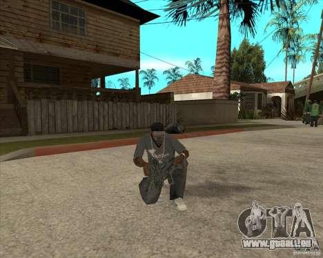 Armes de Pak de Fallout New Vegas pour GTA San Andreas septième écran
