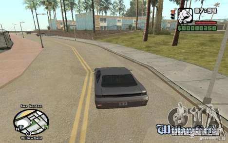Noms de rue sur le radar pour GTA San Andreas