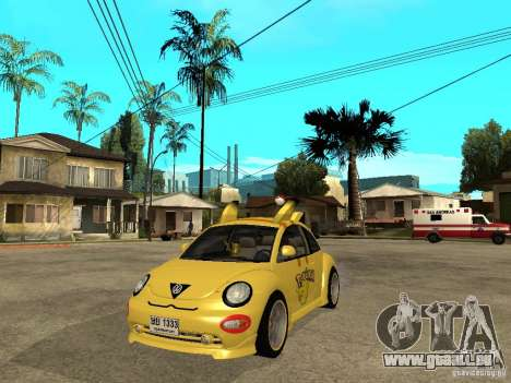 Volkswagen Beetle Pokemon pour GTA San Andreas