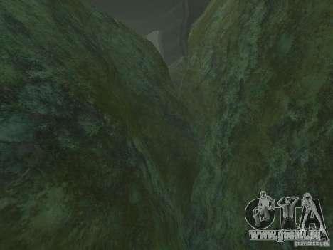 Textures HD des fonds marins pour GTA San Andreas deuxième écran