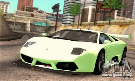 Lamborghini Murcielago R-SV GT1 für GTA San Andreas Seitenansicht