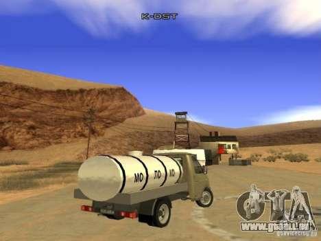 3302 gazelle für GTA San Andreas zurück linke Ansicht