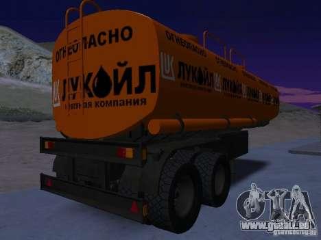 Tank Lukoil für GTA San Andreas