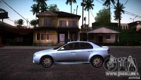 Alfa Romeo 159 Ti pour GTA San Andreas laissé vue