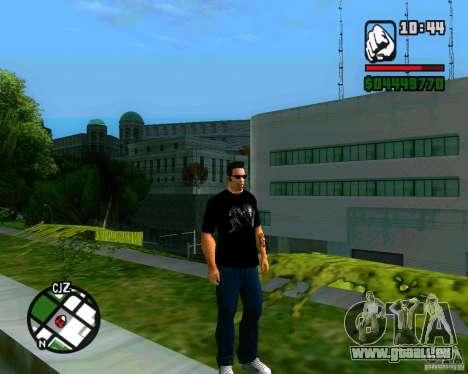 T-Shirt AVP pour GTA San Andreas deuxième écran