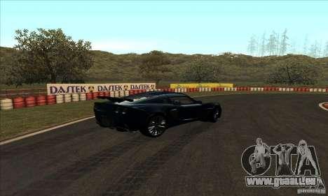 Piste GOKART Route 2 pour GTA San Andreas huitième écran