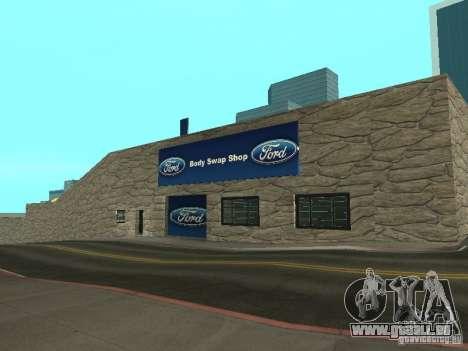 Auto Karte Ford für GTA San Andreas
