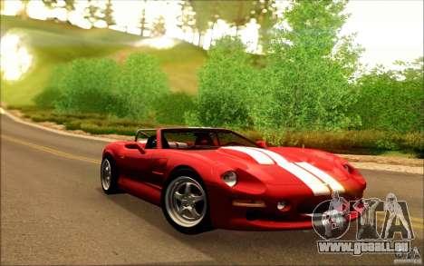 Shelby Series 1 1999 für GTA San Andreas Seitenansicht