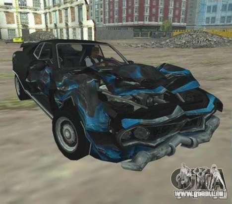Bullet GT from FlatOut 2 für GTA San Andreas zurück linke Ansicht