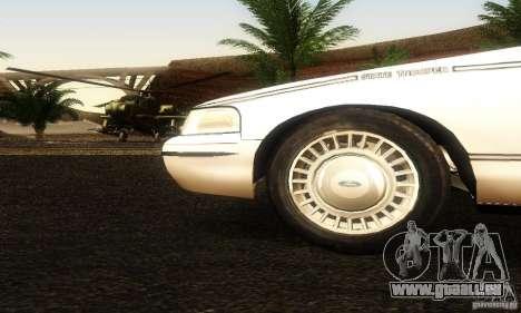 Ford Crown Victoria Ohio Police für GTA San Andreas rechten Ansicht