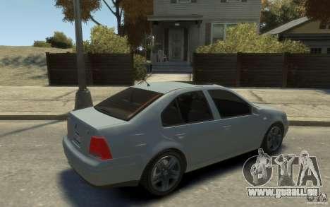 Volkswagen Bora V6 2003 pour GTA 4 est un droit