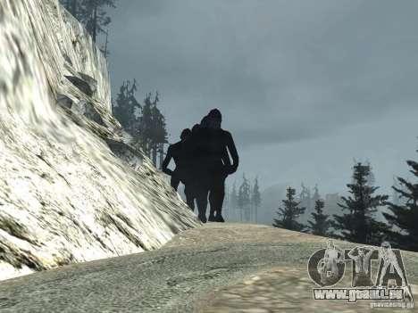 Mt. Chiliad Creature pour GTA San Andreas deuxième écran