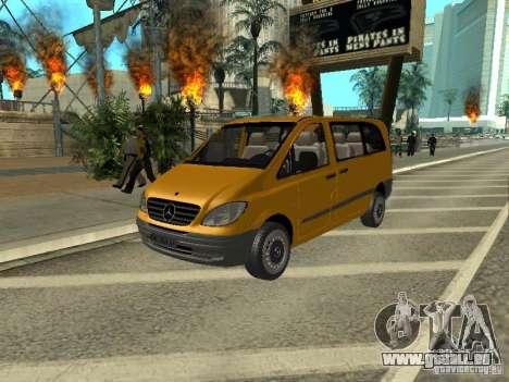 Mercedes-Benz Vito 2003 pour GTA San Andreas