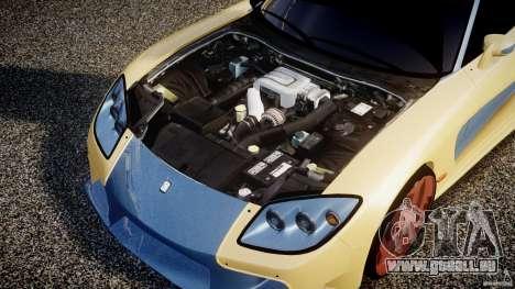 Mazda RX-7 Veilside v0.8 pour GTA 4 Vue arrière