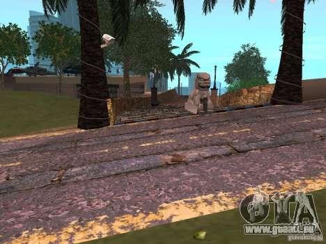 Construction de nouvelles routes en Vajnvude pour GTA San Andreas troisième écran