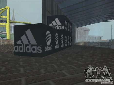 Neue Adidas für GTA San Andreas sechsten Screenshot