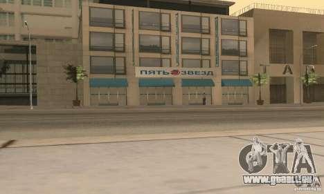 Fünf Sterne und Spare part Service für GTA San Andreas fünften Screenshot