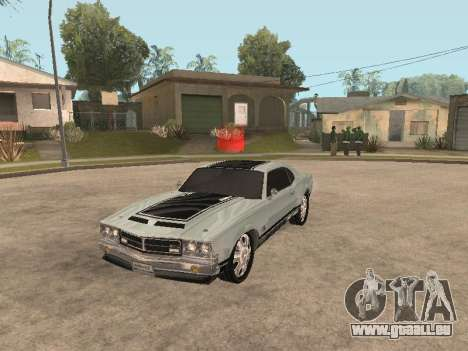 SabreGT von GTA 4 für GTA San Andreas