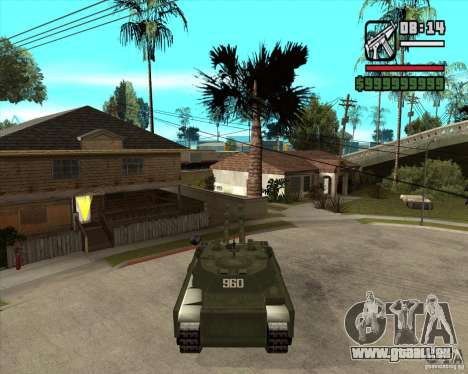 TT-140 mb pour GTA San Andreas laissé vue