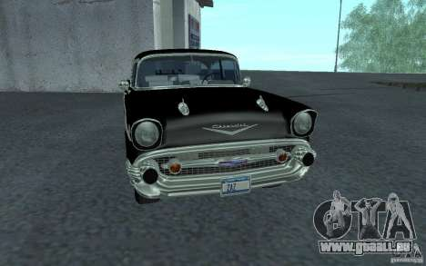 Chevrolet BelAir 4 Door Sedan 1957 für GTA San Andreas linke Ansicht