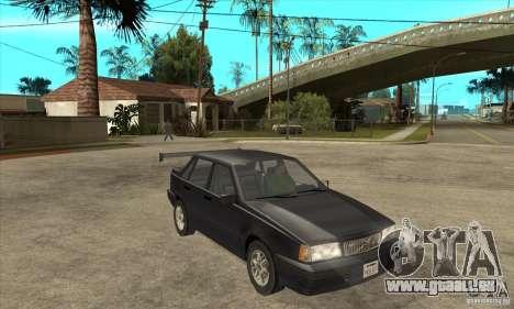 Volvo 850 GLT 1992 pour GTA San Andreas vue arrière