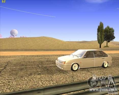 VAZ 2109 Tuning pour GTA San Andreas vue intérieure