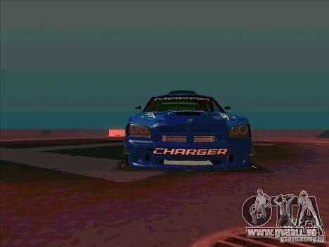 Mopar Dodge Charger für GTA San Andreas Rückansicht