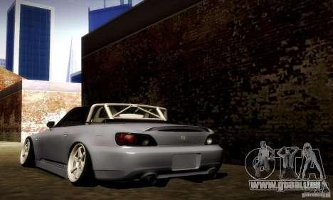 Honda S2000 Street Tuning pour GTA San Andreas sur la vue arrière gauche