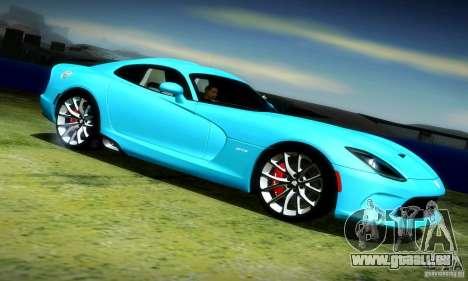 Dodge Viper SRT  GTS für GTA San Andreas rechten Ansicht
