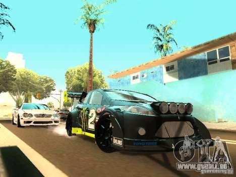 Ford Fiesta Rally Time für GTA San Andreas linke Ansicht