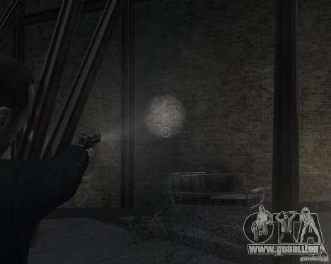 Flashlight for Weapons v 2.0 pour GTA 4 sixième écran