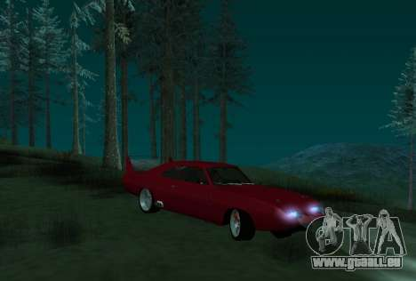 Dodge Charger Daytona für GTA San Andreas