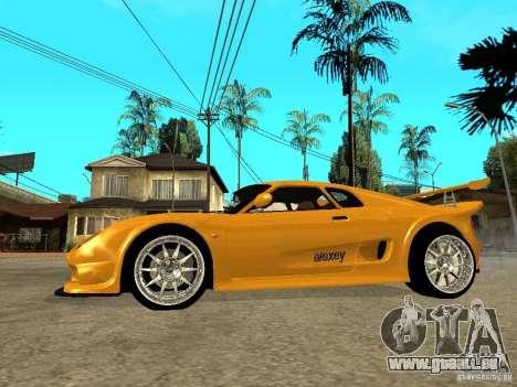 Noble M12 GTO Beta pour GTA San Andreas laissé vue