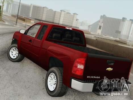 Chevrolet Silverado 2500HD 2013 pour GTA San Andreas salon