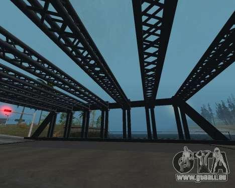 Brücke in LS für GTA San Andreas dritten Screenshot