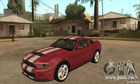 Shelby GT500 2010 pour GTA San Andreas