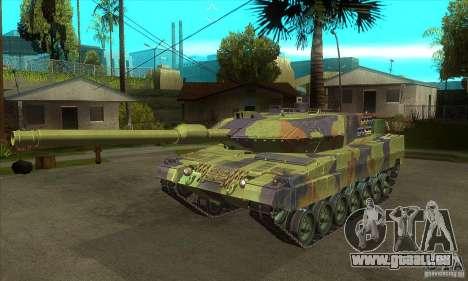 Leopard 2 A6 für GTA San Andreas