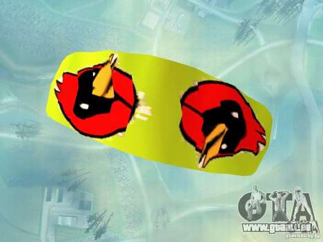 Le parachute avec l'oiseau d'Omsk pour GTA San Andreas