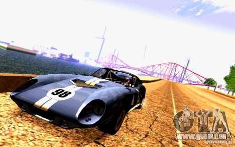 Shelby Cobra Daytona Coupe v 1.0 pour GTA San Andreas
