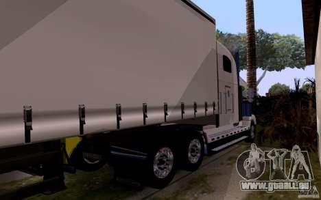 Freightliner SD 120 pour GTA San Andreas vue arrière