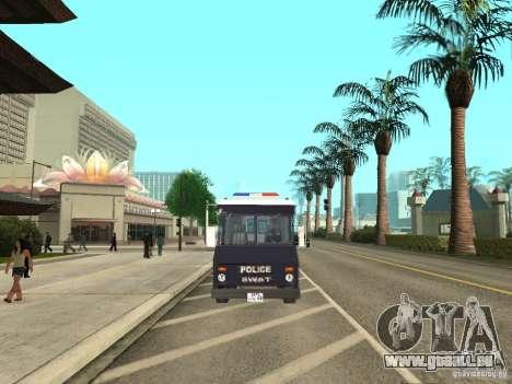 SWAT-Los Angeles für GTA San Andreas rechten Ansicht