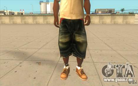 The BIG Makaveli Short Jeans pour GTA San Andreas